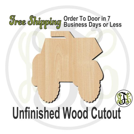 Dump Truck - 10007- Cutout, unfinished, wood cutout, wood craft, laser cut shape, wood cut out, Door Hanger, wooden, wreath accent