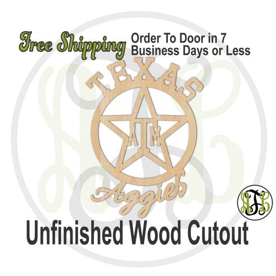 Texas  - 60109- aTm Cutout, unfinished, wood cutout, wood craft, laser cut shape, wood cut out, Door Hanger, wooden, wall art