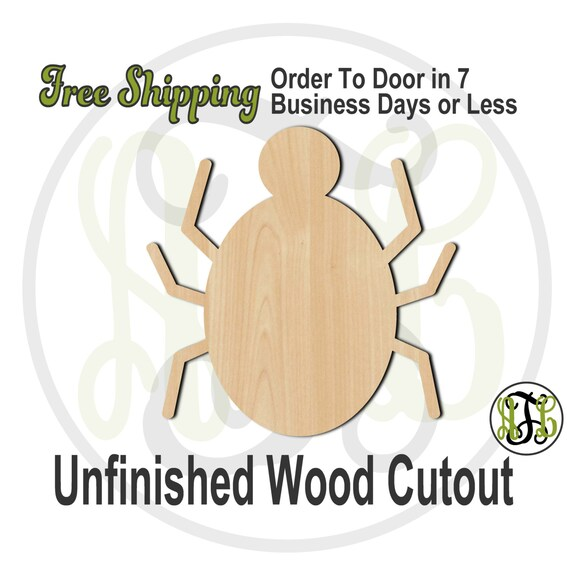 Spider - 160011- Halloween Cutout, unfinished, wood cutout, wood craft, laser cut shape, wood cut out, Door Hanger, wooden, wall art