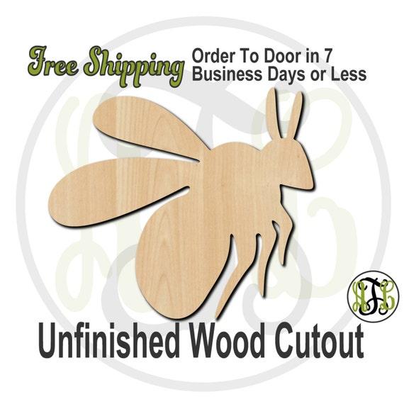 Bumble Bee Mascot- 60503- School Spirit Cutout, unfinished, wood cutout, wood craft, laser cut shape, wood cut out, Door Hanger, wooden
