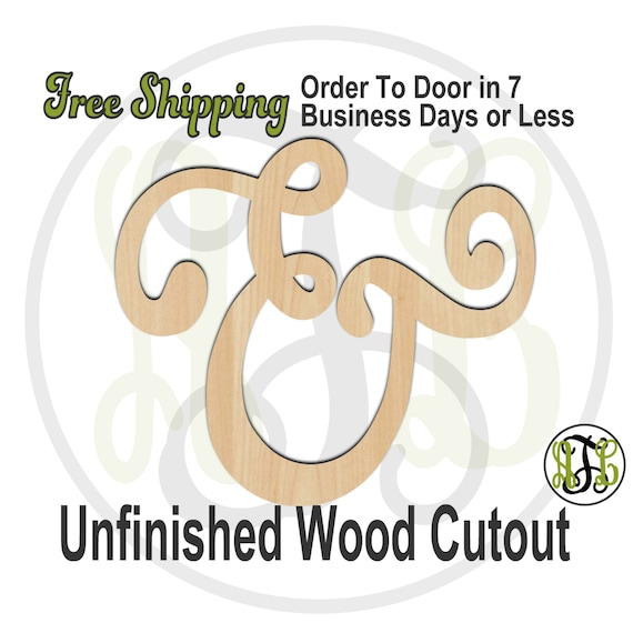 Ampersand 1- 322001- Cutout, unfinished, wood cutout, wood craft, laser cut wood, wood cut out, Door Hanger, wooden sign, wall art