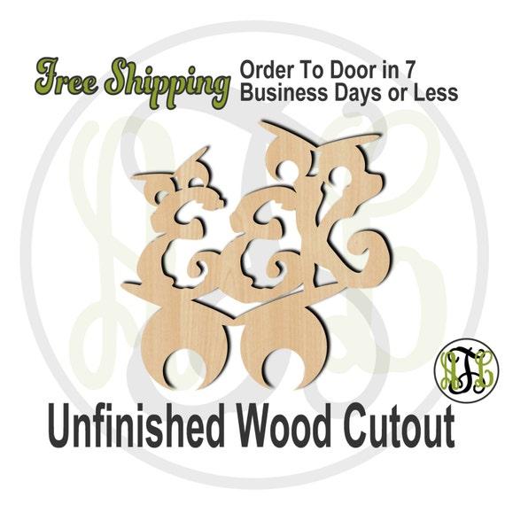 Eek - 160203- Halloween Cutout, unfinished, wood cutout, wood craft, laser cut wood, wood cut out, Door Hanger, wooden sign, wall art