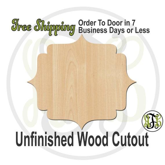 Pandala Plaque - 40060- Cutout, unfinished, wood cutout, wood craft, laser cut shape, wood cut out, DIY, Free Shipping