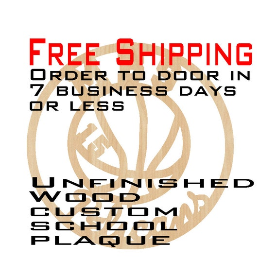 Unfinished Wood Custom Team Plaque, Free Ship, Wood Craft, laser cut shape, Custom Sport plaque, Basketball, team, wooden, wall art