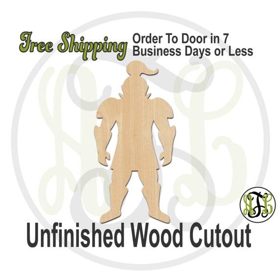 Knight Mascot - 60574- School Spirit Cutout, unfinished, wood cutout, wood craft, laser cut shape, wood cut out, Door Hanger, wooden