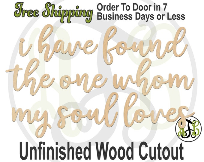 i have found the one, Wedding Cutout, laser cutout, wooden sign, photo wall phrase, wooden wall phrase, unfinished wood cutout - 325138