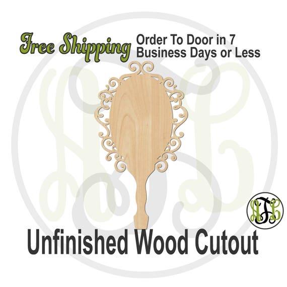 Mirror Mirror Paddle - 3400024- Make Believe Cutout, unfinished, wood cutout, wood craft, laser cut shape, wood cut out, princess