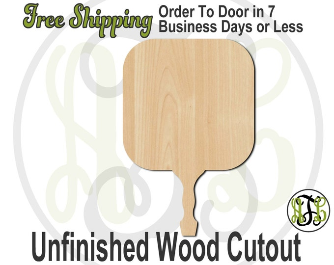 Rounded Square Paddle Sign- 3400006- Cutout, unfinished, wood cutout, wood craft, laser cut, wood cut out, Free Ship, Wedding, bleacher
