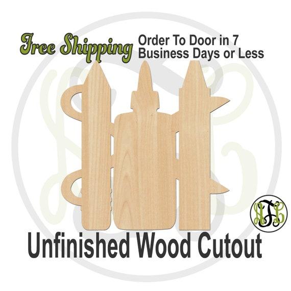 Scissors Pencil Glue Crayon- 70021- School Cutout, unfinished, wood cutout, wood craft, laser cut wood, wood cut out, Door Hanger, Teacher