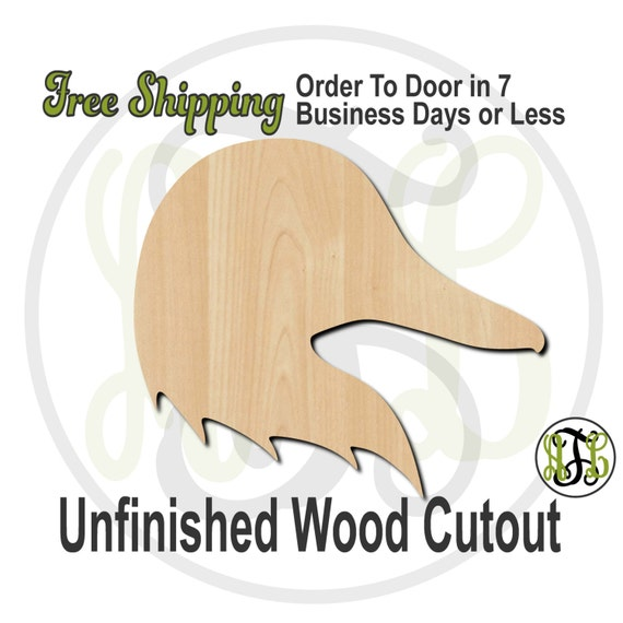Duck Head Mascot- 60510- School Spirit Cutout, unfinished, wood cutout, wood craft, laser cut shape, wood cut out, Door Hanger, wooden