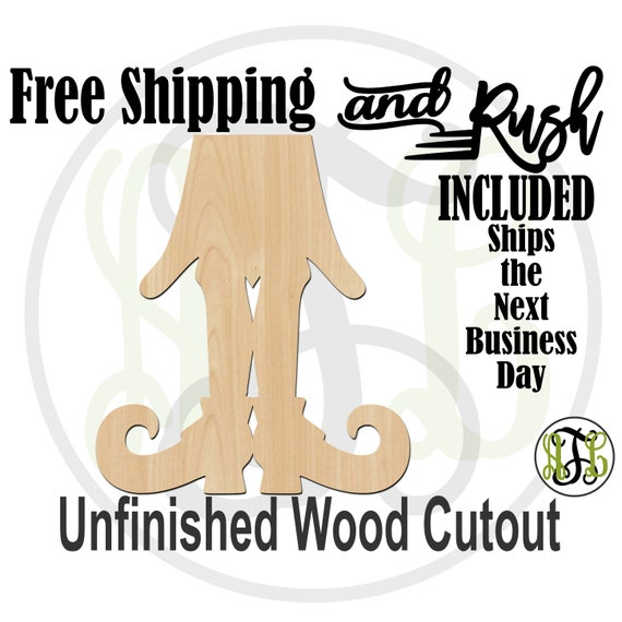Witch Legs & Skirt - 160014b- Halloween Cutout, unfinished, wood cutout, wood craft, laser cut, wood cut out, Door Hanger, RUSH PRODUCTION