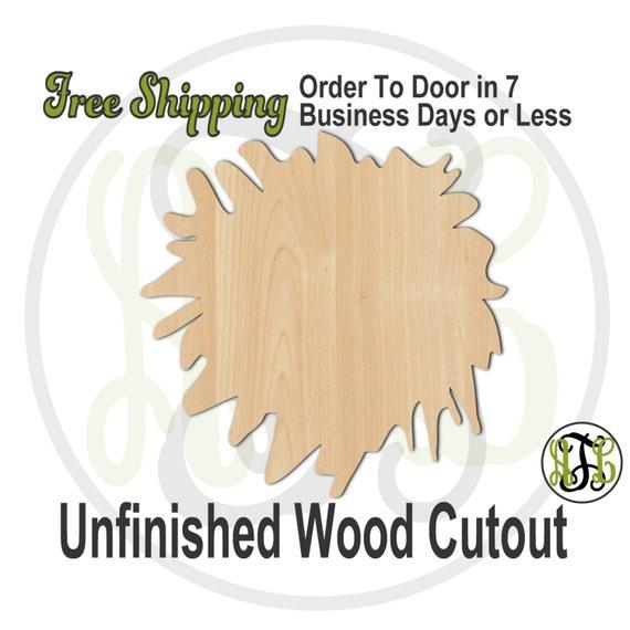 Cheer Pom - 60011- School Spirit Cutout, unfinished, wood cutout, wood craft, laser cut shape, wood cut out, Door Hanger, wooden, wall art