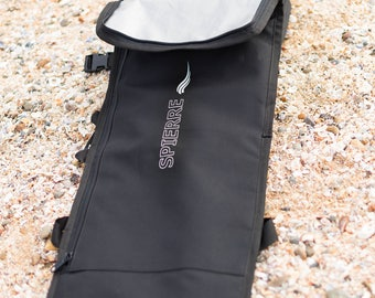 Spierre Padded Travel Fin Bag