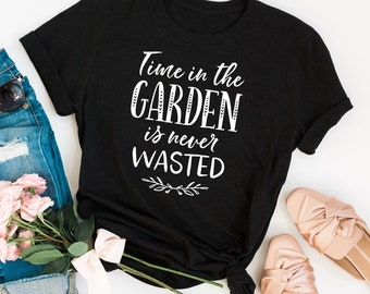 6ea4428a2 Funny Gardening TShirt Garden Gift Growing Flowers Vegetables Crazy Plant  Lady Wet My Plants Garden Accessories