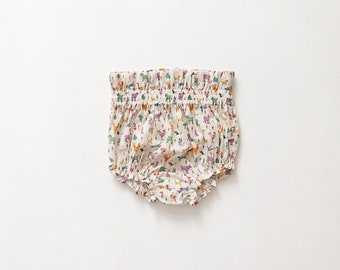 Millie Bloomers, Animals - Liberty Bloomers - Liberty of London - Newborn  Baby Girl Bloomers 17cbfa27cb
