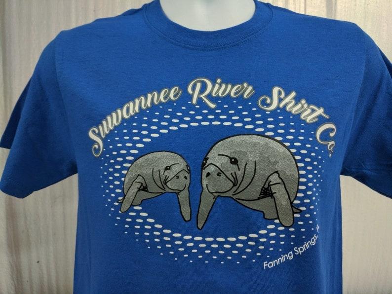 READY TO SHIP Suwannee River Shirt Company Unisex Manatee image 0