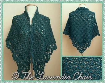 Daisy Fields Shawl Crochet Pattern *PDF DOWNLOAD ONLY* Instant Download
