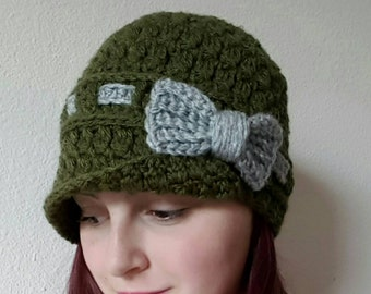 Candace's Cluster Cloche Crochet Pattern *PDF DOWNLOAD ONLY* Instant Download