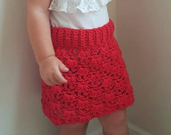 Weeping Willow Skirt Crochet Pattern *PDF DOWNLOAD ONLY* Instant Download