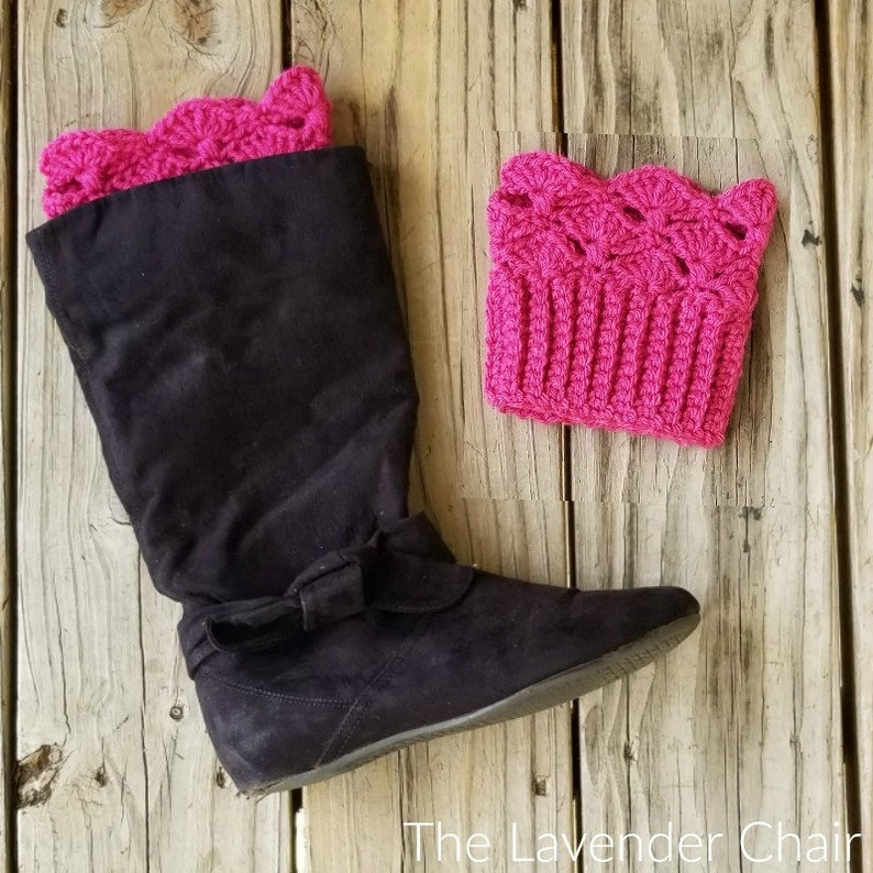 Francesca Boot Cuffs Crochet Pattern Pdf Download Only Etsy