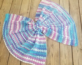Berry Cupcake Baby Blanket Crochet Pattern - The Lavender Chair *PDF DOWNLOAD ONLY* Instant Download