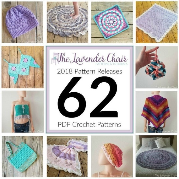 c85acce1b97a The Lavender Chair 2018 Pattern Releases Complete Collection