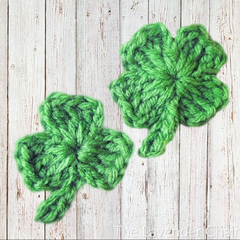Clover Crochet Pattern PDF FILE ONLY The Lavender image 0