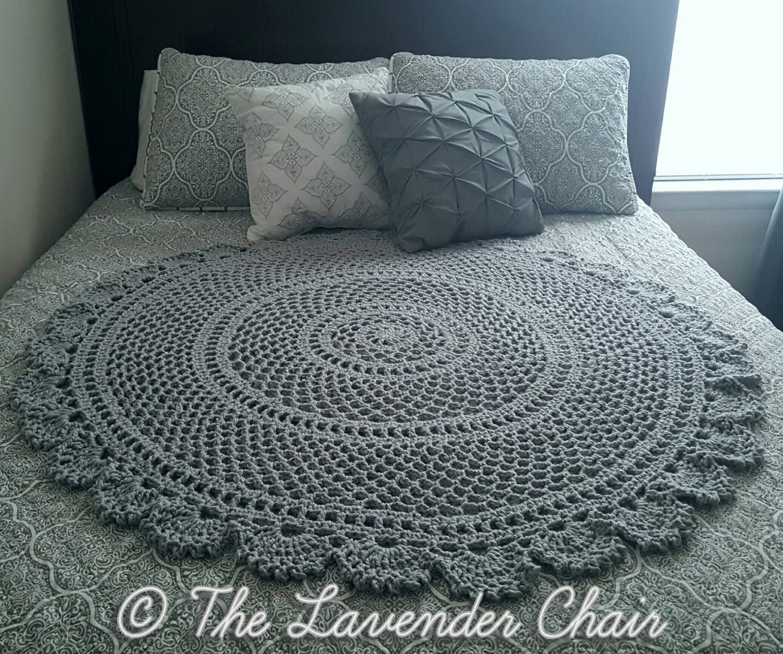 Ring Around The Rosie Mandala Blanket Crochet Pattern Pdf Etsy