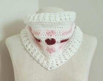 Love Me Tender Cowl Crochet Pattern *PDF DOWNLOAD ONLY* Instant Download