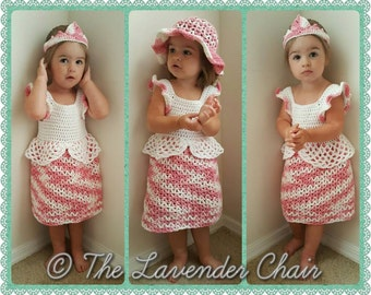 Valerie's Princess Dress Crochet Pattern *PDF DOWNLOAD ONLY* Instant Download