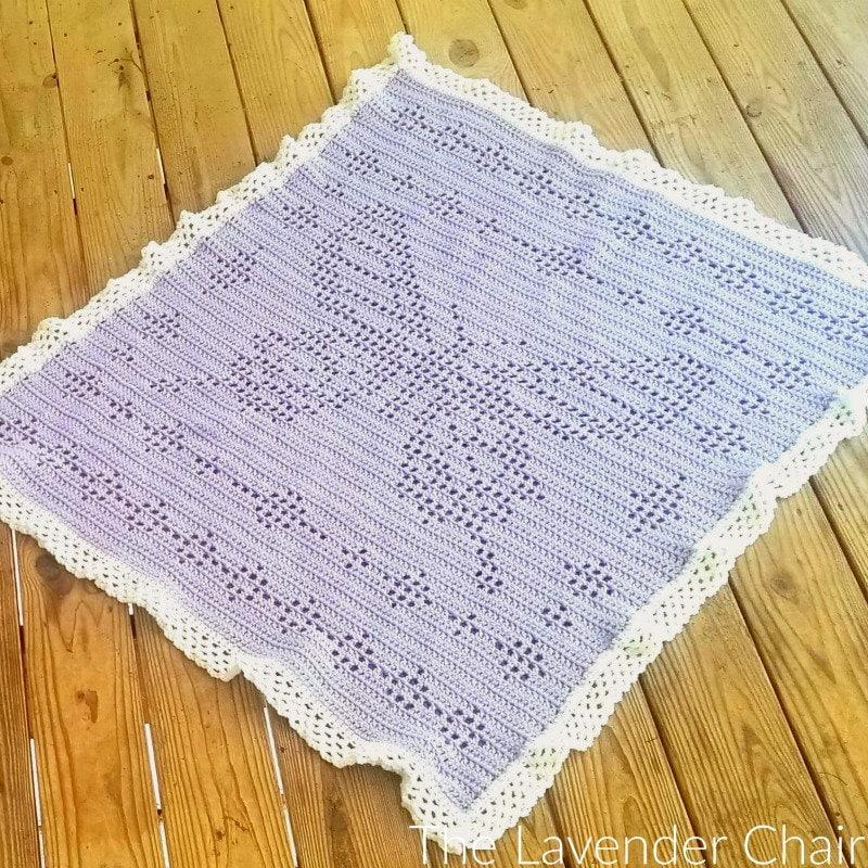 Filet Butterfly Blanket Crochet Pattern Pdf File Only Etsy