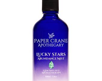 LUCKY STARS (Previously Ka-Ching) – Abundance Mist - Gem-Infused Aromatherapy - Crystal Healing