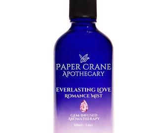 EVERLASTING LOVE – Romance Mist - Gem-Infused Aromatherapy - Crystal Healing