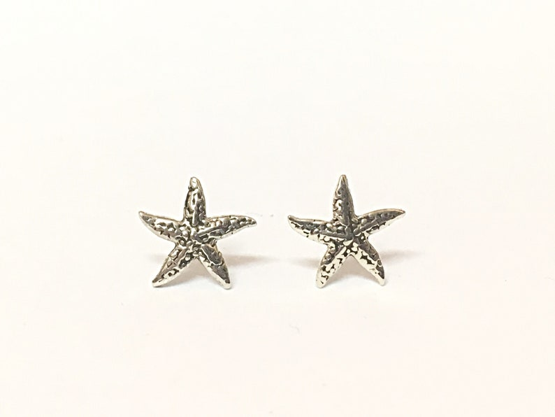 3d9a4ac2c Starfish Earrings Studs By Amara Notonthehighstreet -> Source. Image 0