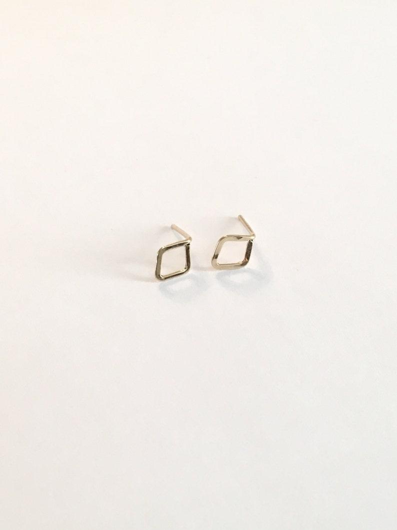 Tiny Gold Stud Earrings Minimalist Stud Earrings Gift For Her Stud Earrings Tiny Stud Earrings Sterling Silver Small Stud Earrings For Women