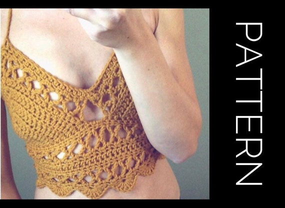 The Very Knotty bralette summer bralette Crochet cotton top crochet top sweetheart top