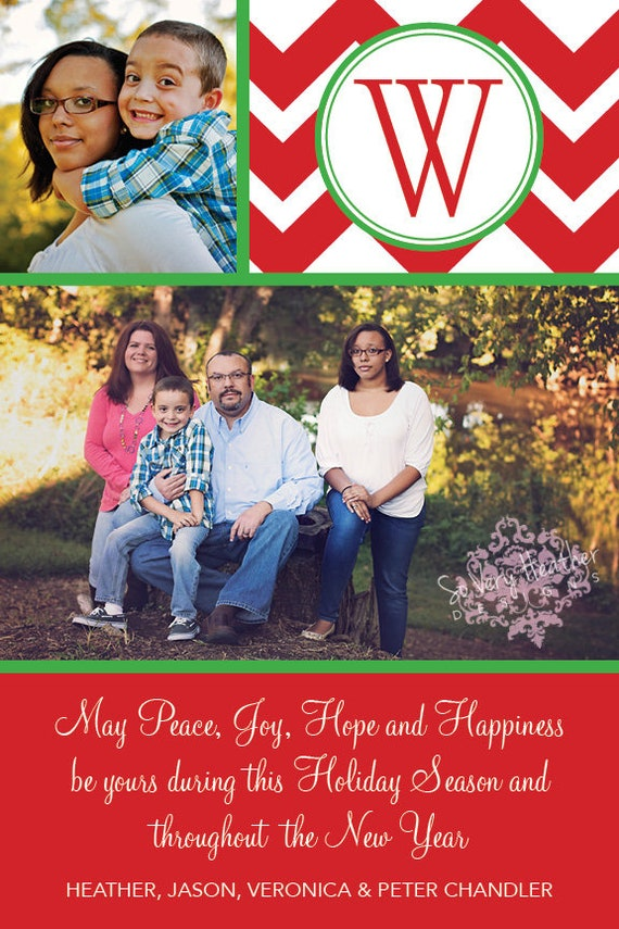 Photo Christmas Cards - Digital File OR Printed