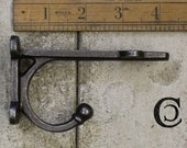 PAIR of shelf BRACKETS cast iron TRANBY brackets ideal for 5 quot and 6 quot shelves