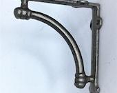 PAIR OF cast iron quot ALBION quot shelf brackets 7 quot x 7 quot vintage, antique ironmongery