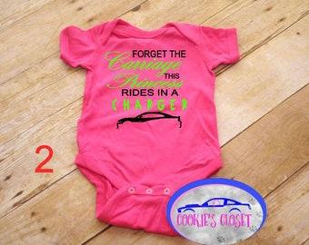 Dodge ram baby tee infant one piece newborn baby t-shirt Dodge shirt for baby
