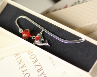 Bookmark for book bookworm for her gift ideas book lovers bookmarks for books unique book mark mothers day gift reader library librarian