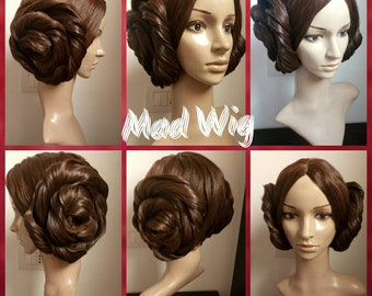 Princess Leia Leila wig commission order cosplay costume Star Wars preorder