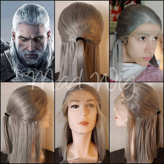 The Witcher 3 Geralt Di Rivia Wig Cosplay Commission Preorder