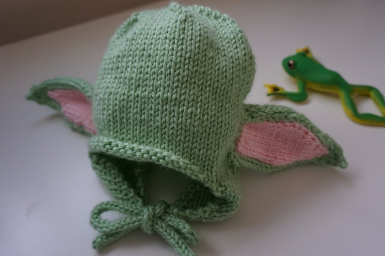 Baby Yoda Hat Knitting Pattern and Tutorial Baby and Child ...