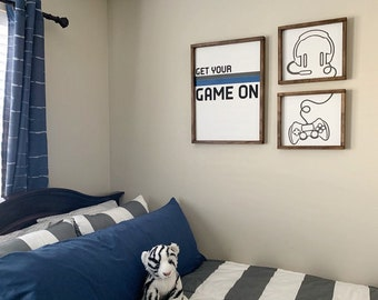 Boy bedroom decor   Etsy
