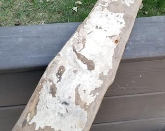 Faded Paint Driftwood Board Plank Sign Blank Coastal Beach Decoration