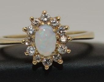 Gold Australian Opal