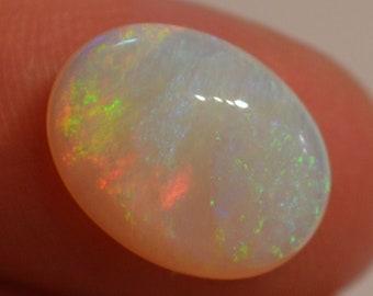 Australian Crystal Opal, 5 Carat Loose Opal Cabochon