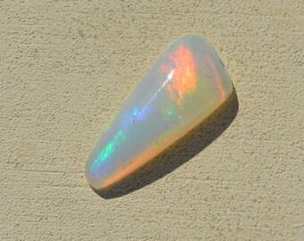 Loose Australian Crystal Opal Triangular Cabochon, 1.0 cts