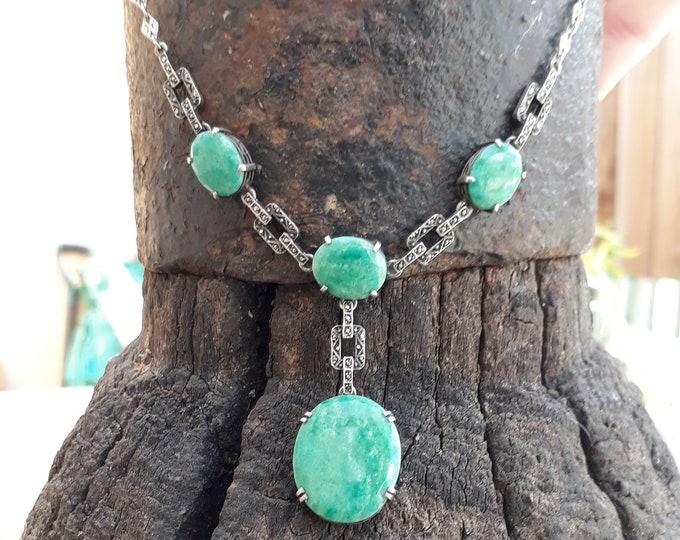 Vintage Aventurine Necklace